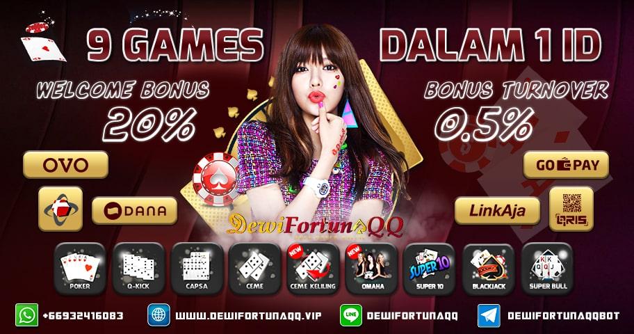 DewiFortunaQQ Poker Bonus Deposit Terbesar dan Resmi di Indonesia
