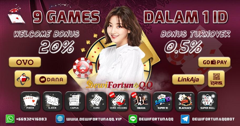 DewiFortunaQQ Situs Judi Online QQ Poker Online Domino Terpercaya